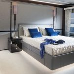 main deck owner's suite Sunseeker 95 Yacht megayacht