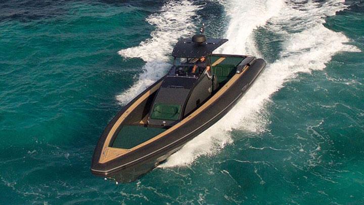 Technohull Omega 41 megayacht tender
