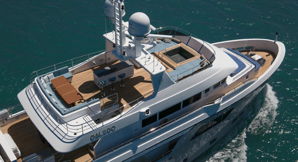 Cantiere delle Marche Galego megayacht