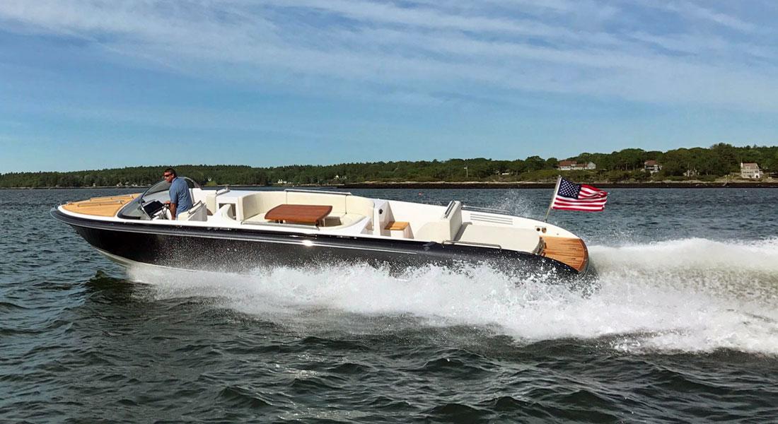 Hodgdon Custom Tenders superyacht tender by Michael Peters
