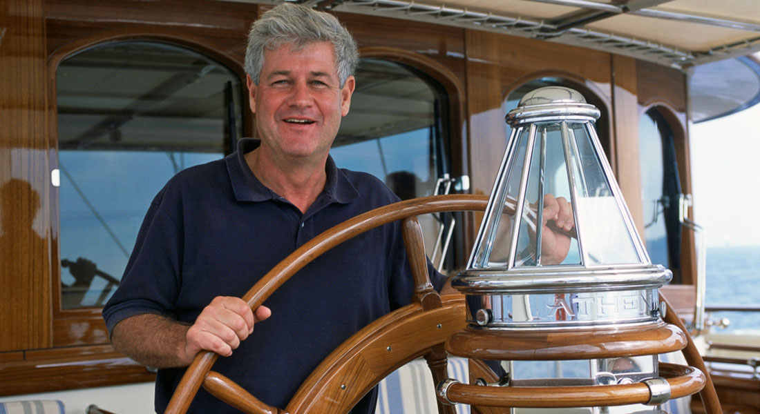 Michael Koppstein was the superyacht rep for Lurssen and previously Royal Huisman; his death made for one of the biggest megayacht stories of 2019