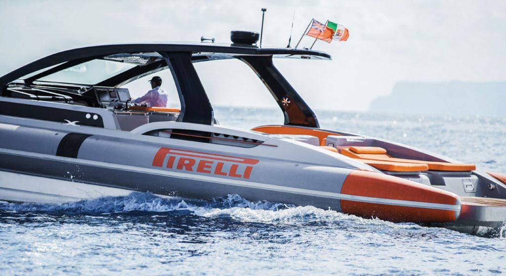 Pirelli 1900 by Tecnorib superyacht tender