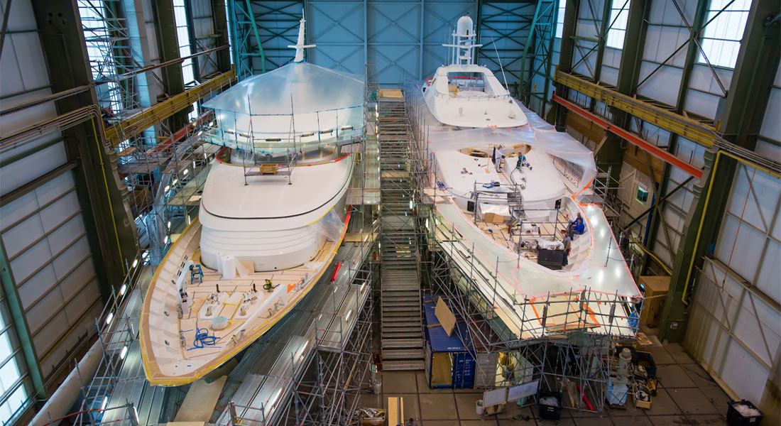 refits at Feadship
