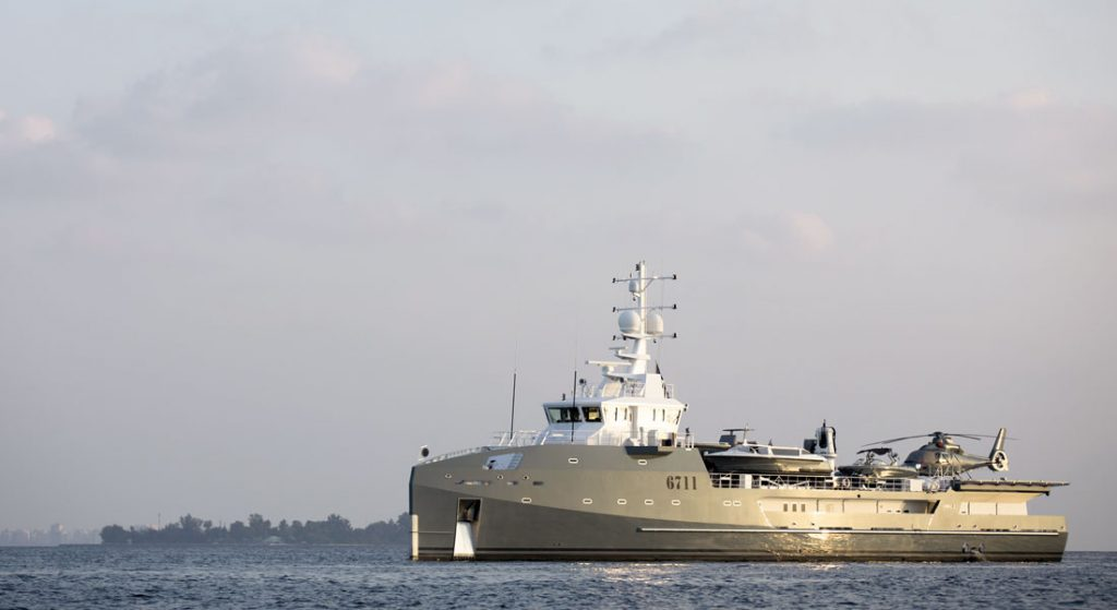 superyacht 6711 Damen Fast Yacht Support Vessel