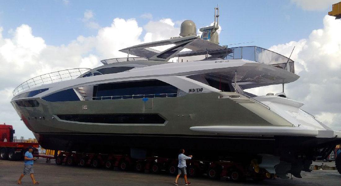 Amer 110 Unique megayacht launch