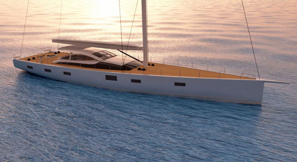 Baltic 112 Custom sailing superyacht MM341 Malcolm McKeon
