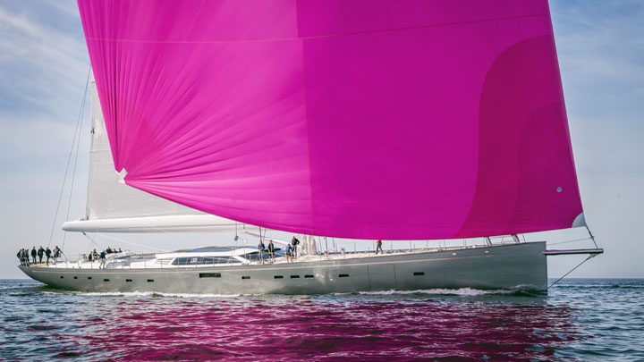 Baltic Yachts Pink Gin VI superyacht premieres Monaco Yacht Show