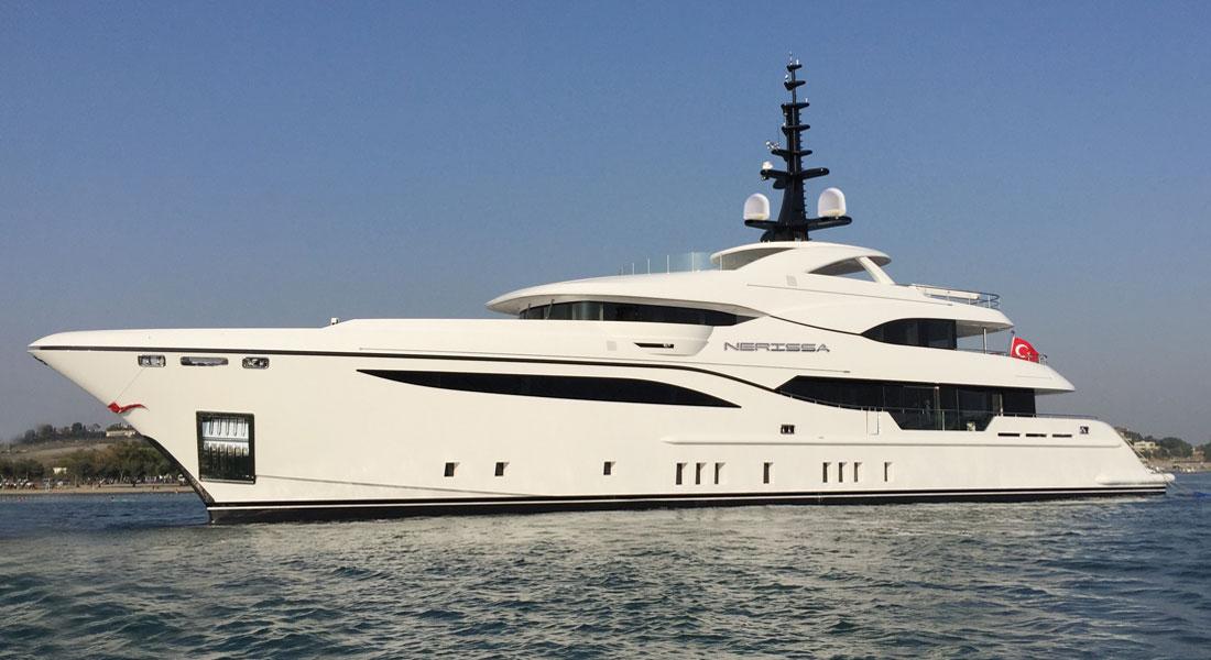 Bilgin Yachts Nerissa superyacht launch