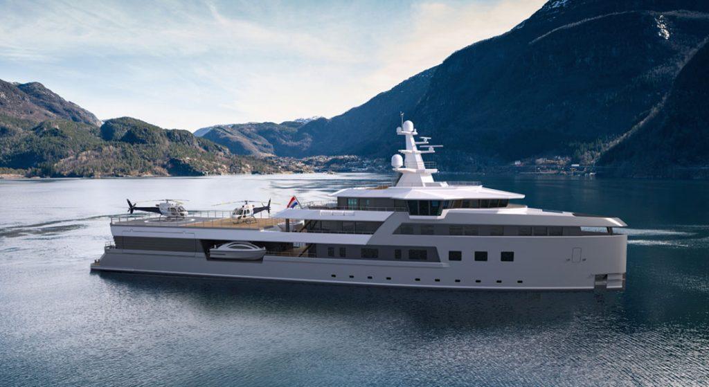 Amels Damen SeaXplorer 75 megayacht
