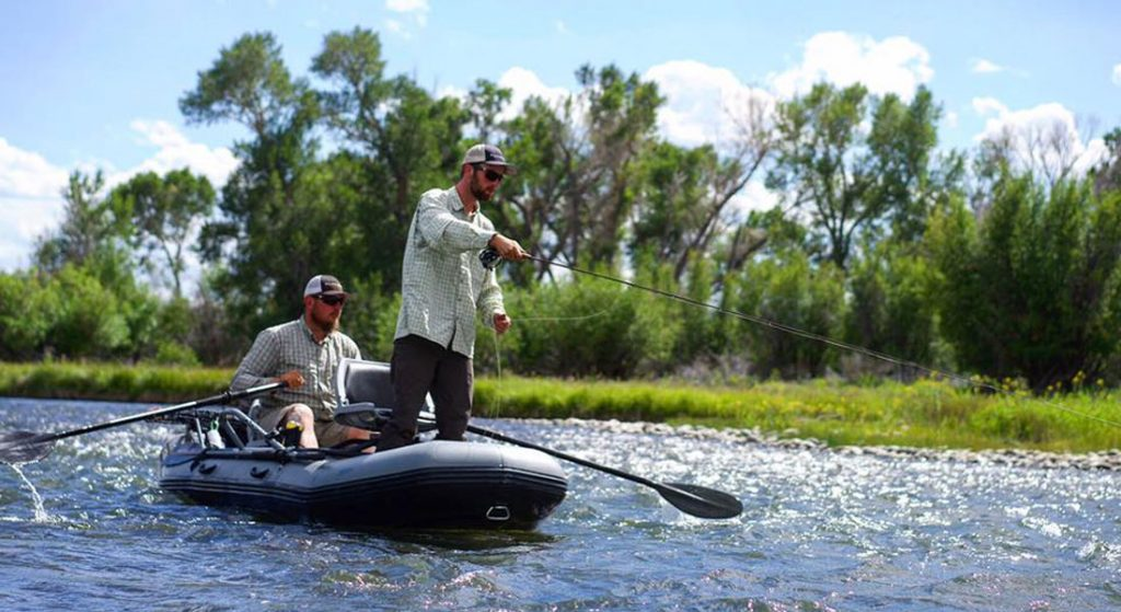Flycraft Stealth inflatable fishing boat megayacht tender