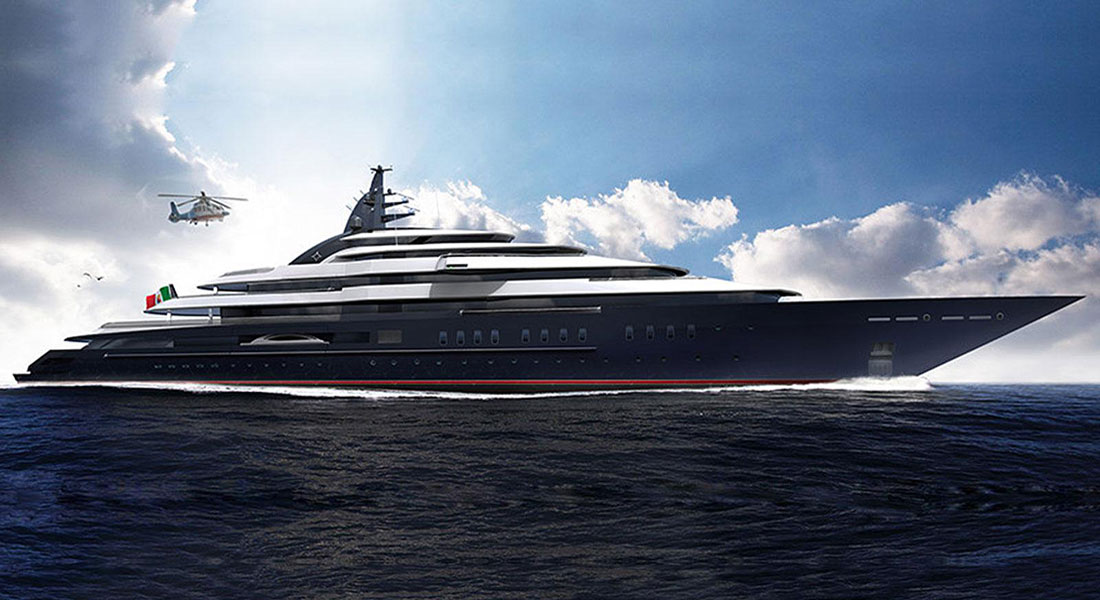 Project Redwood megayacht