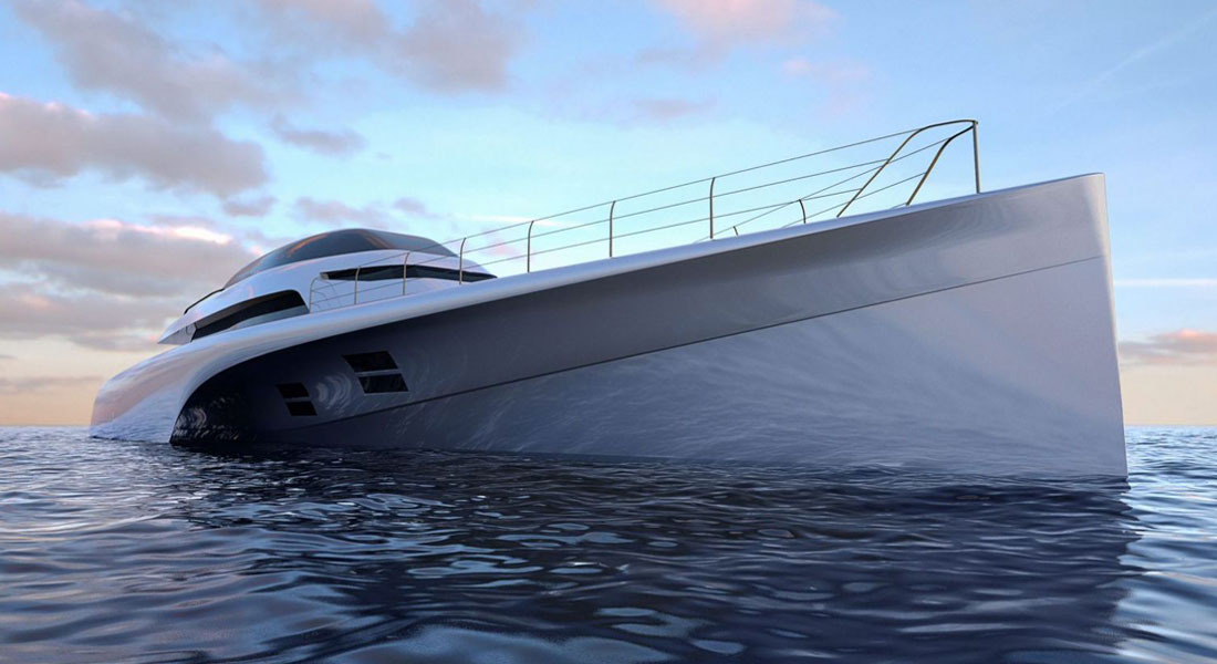 MC155 Trimaran Costs to Rival Monohulls Half Her Size