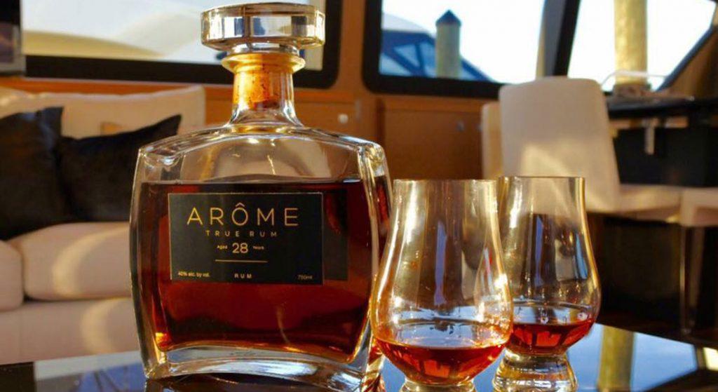ARÔME Rum 28 Andrew Troyer megayacht broker