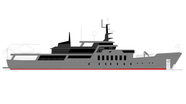 Avenhorn superyacht conversion Sabdes Design profile 2
