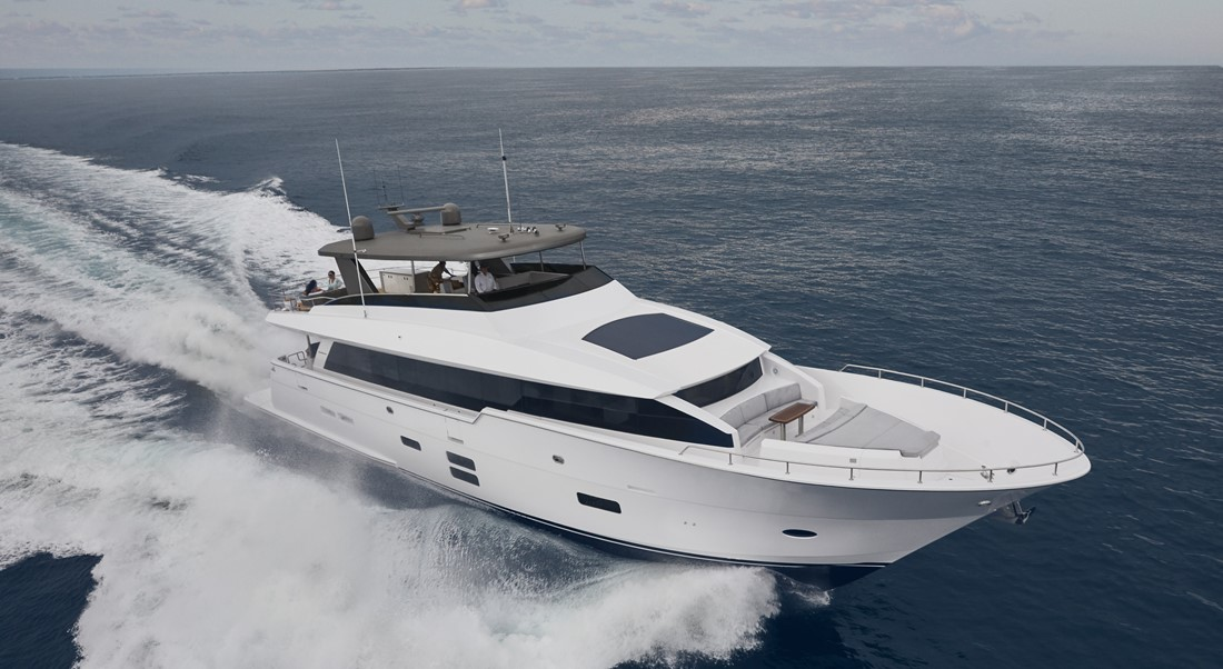 Hatteras M90 Panacera megayacht