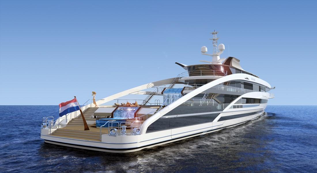 Heesen Project Maximus megayacht Clifford Denn Design