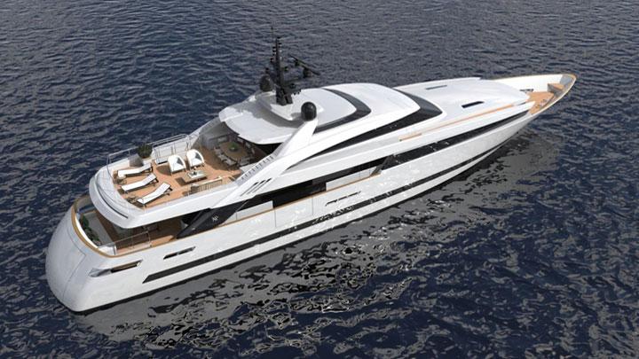 ISA Alloy 43 megayacht