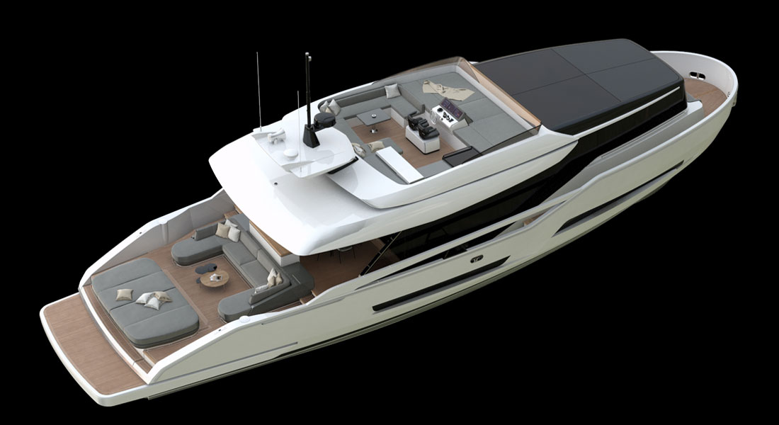 Extra 76 Marks New-Look Series for ISA Yachts