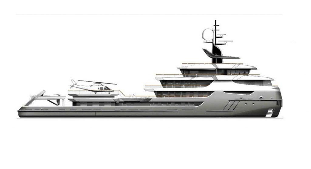 Project Ragnar superyacht conversion