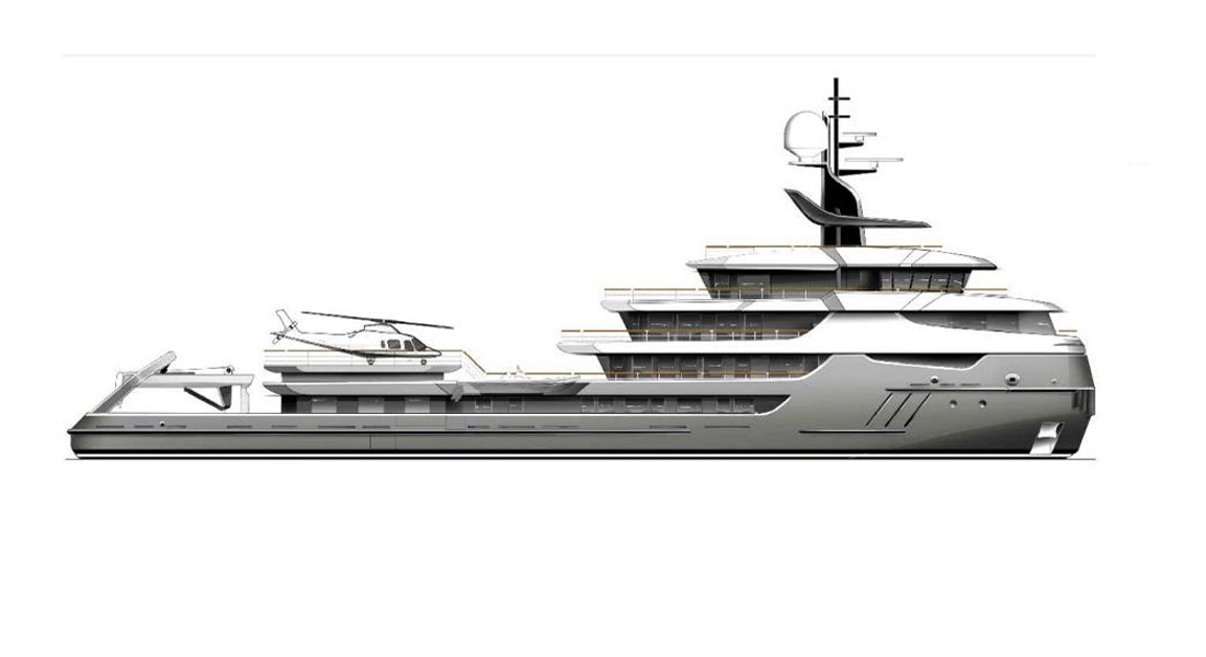 Project Ragnar superyacht conversion