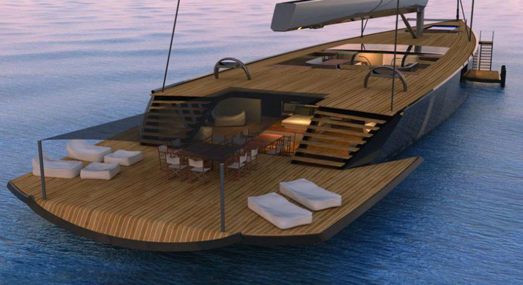 Malcolm McKeon Yacht Design sailing superyacht MM78