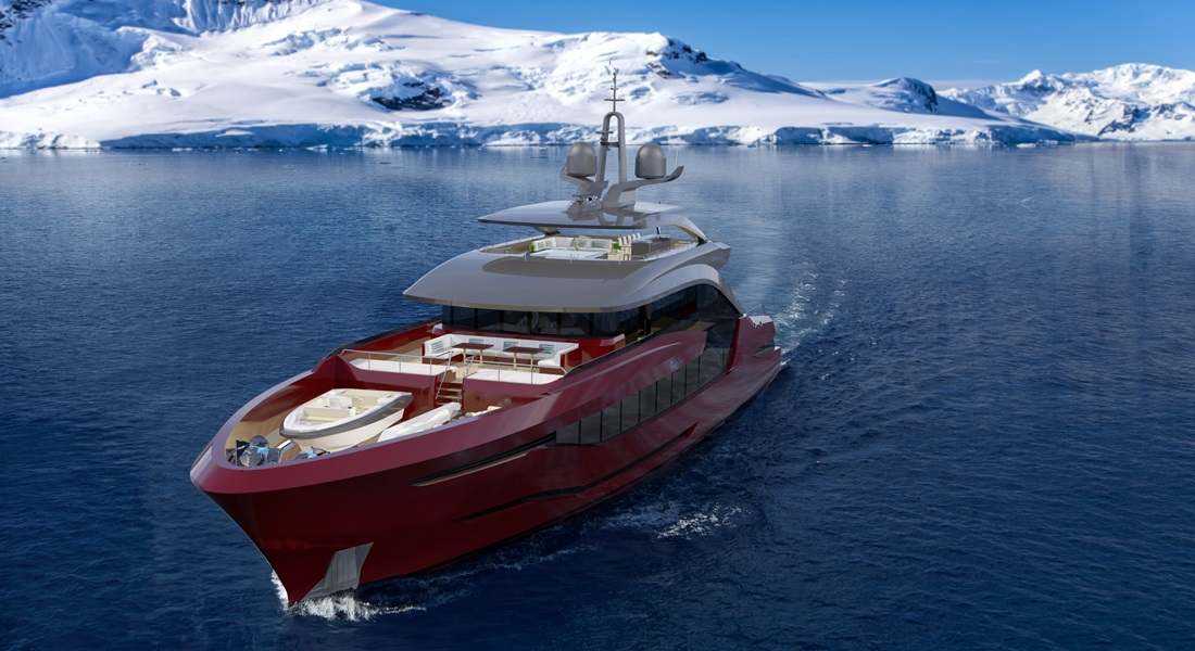 Moonen Shipyards Navarino superyacht