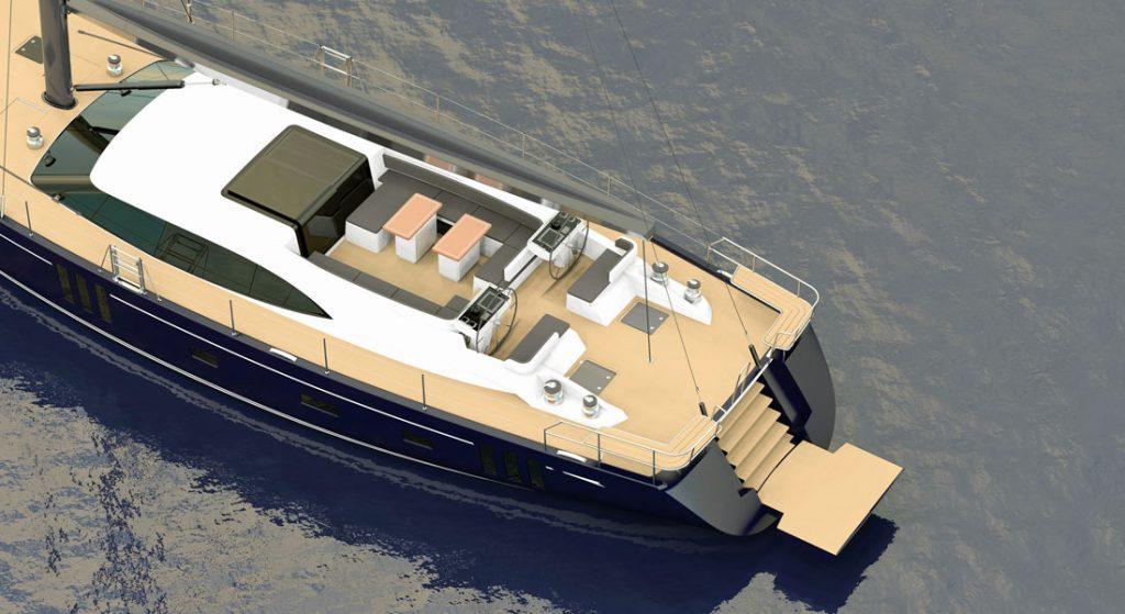 Oyster 835 superyacht
