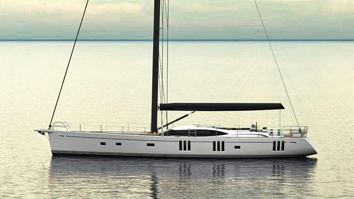 Oyster 895 superyacht