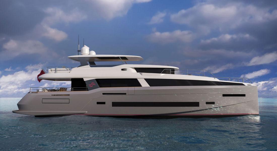 Sirena 85 megayacht