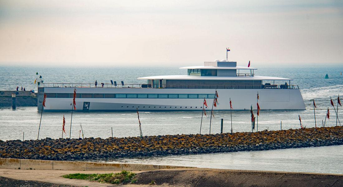 Feadship superyacht Venus; she is among valentine-themed superyachts