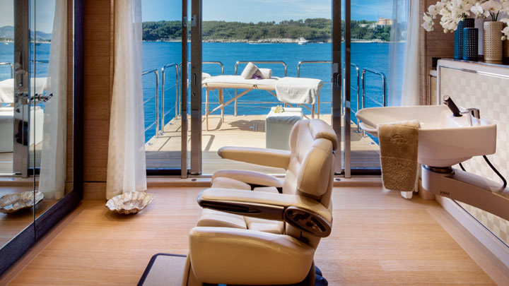 Megayacht news onboard cloud 9 by crn megayacht news for Cloud 9 salon dehradun