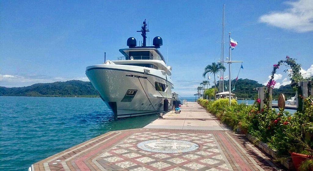 Golfito Marina Village and Resort megayacht marina