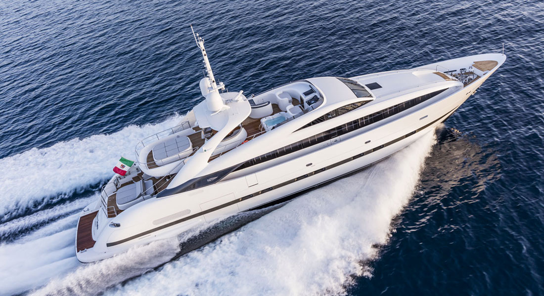 ISA Sport 120 Clorinda megayacht