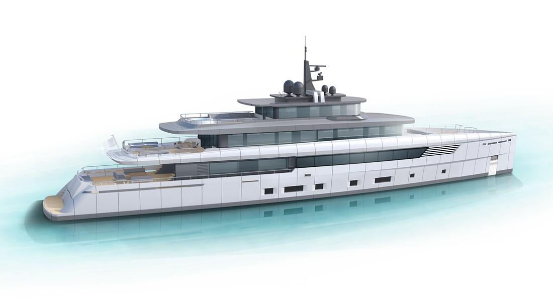 Perini Navi-branded motoryacht 56m