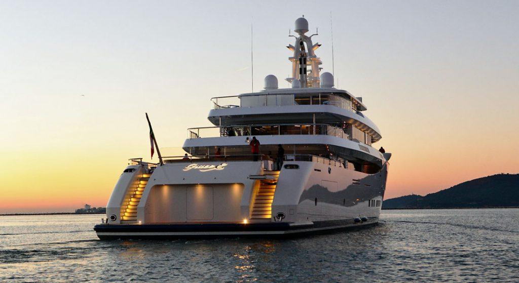 Picchiotti megayacht Grace E Miami Yacht Show