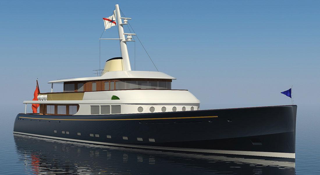 Royal Huisman megayacht Project Marlin