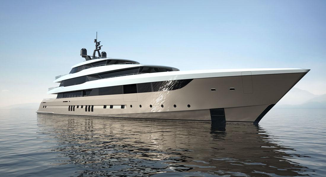 Sestante superyacht concept Baglietto Mulder Design