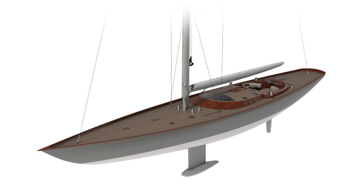 Spirit 111 sailing superyacht