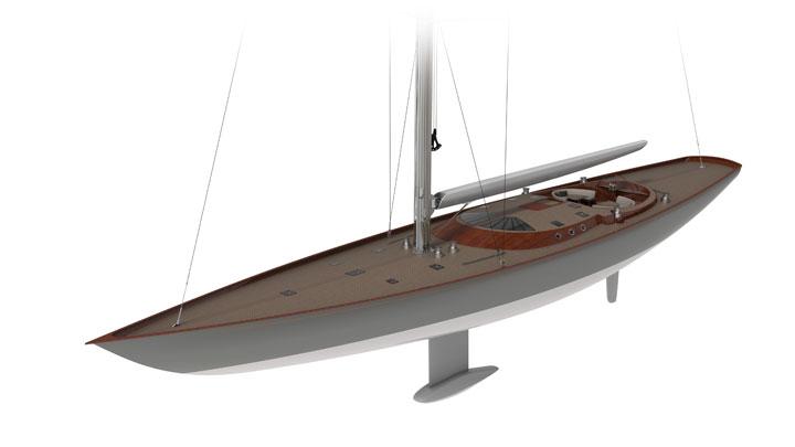 Spirit 111 sailing superyacht