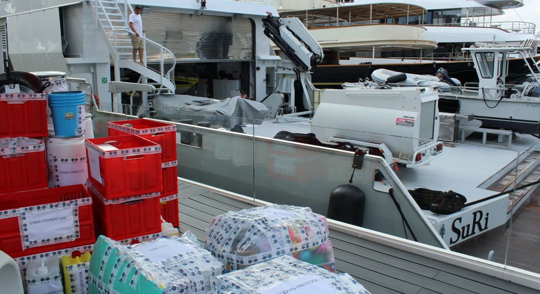 SuRI megayacht Caribbean Yachting Update story