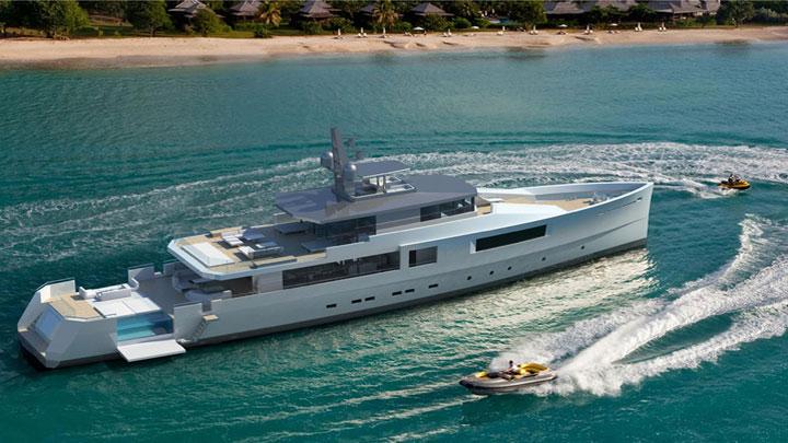 Vitruvius Yachts explorer yacht Expedition Mediterranean 50M megayacht
