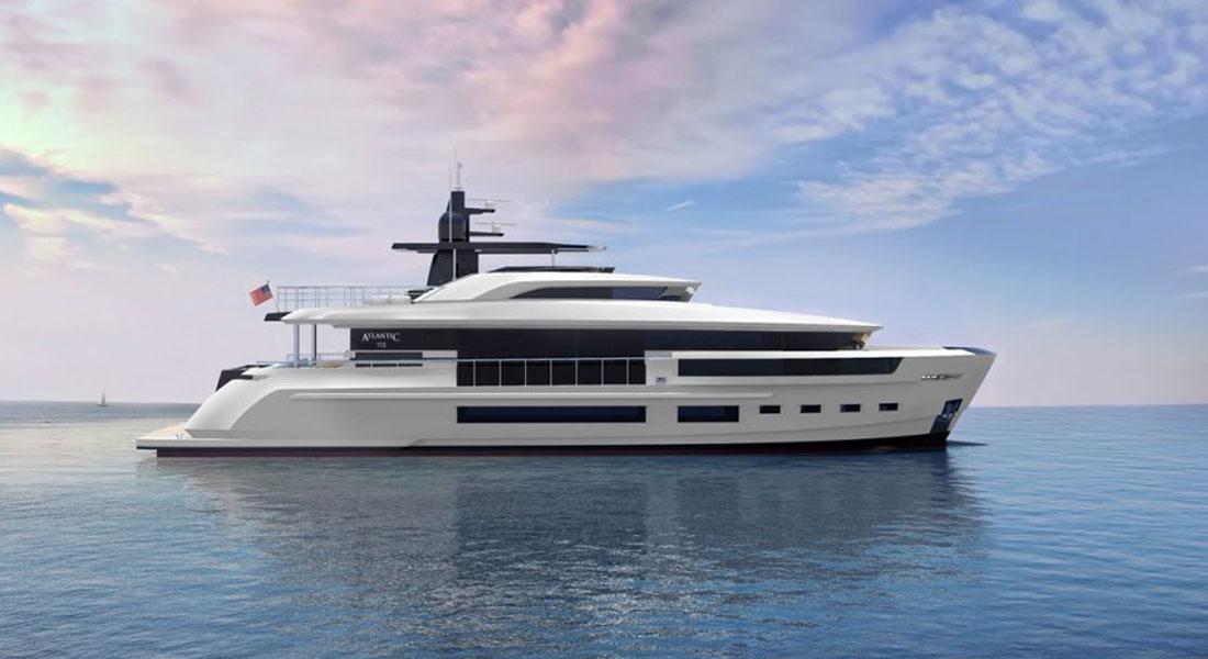 Atlantic 115 megayacht Heysea Yachts