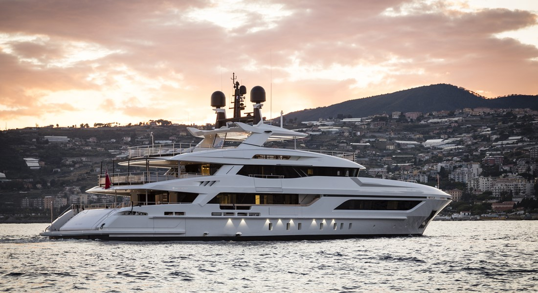 Baglietto Andiamo megayacht International Superyacht Society Awards of Distinction finalist