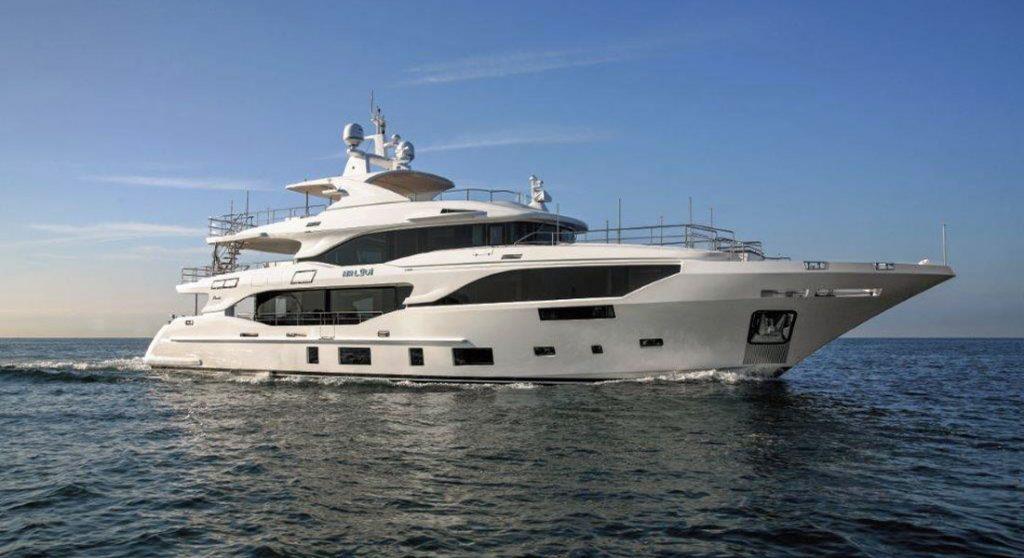 Mr. Loui Benetti Mediterraneo 116 megayacht