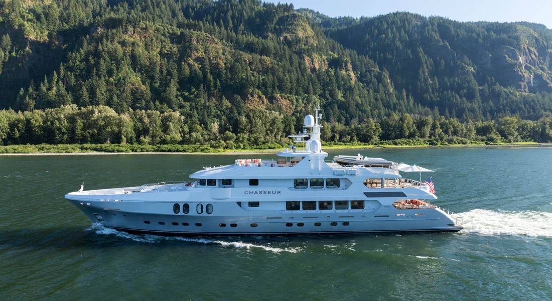 Christensen Chasseur superyacht design