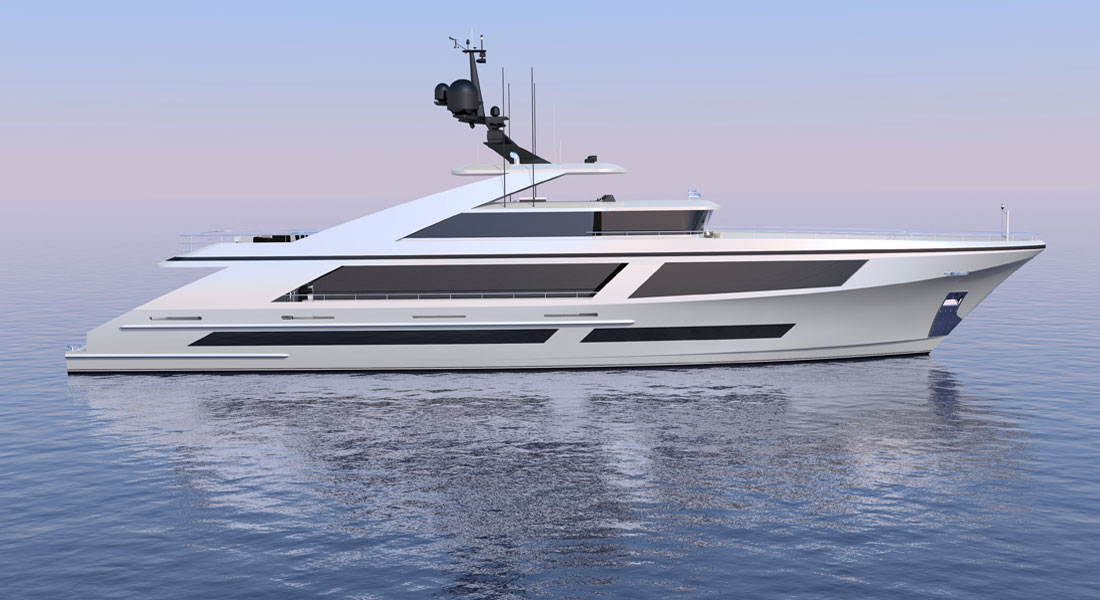 Christensen 40M Raised Pilot House megayacht