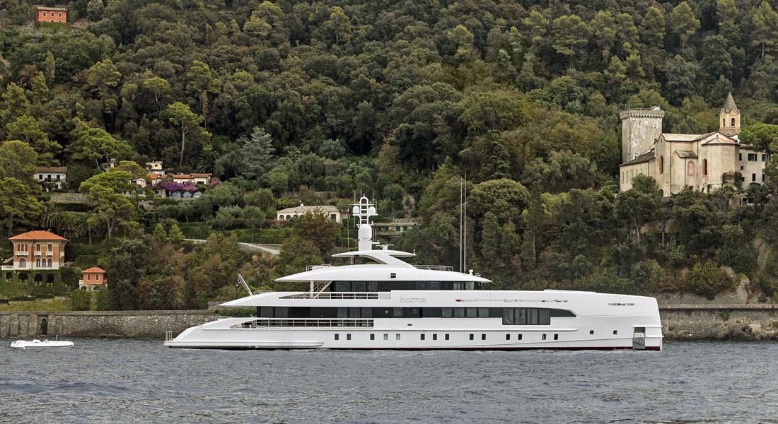 Heesen Yachts megayacht Home