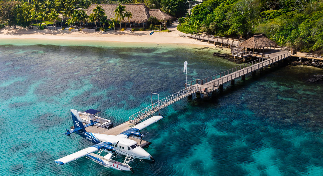 Kokomo island Fiji superyacht friendly resort