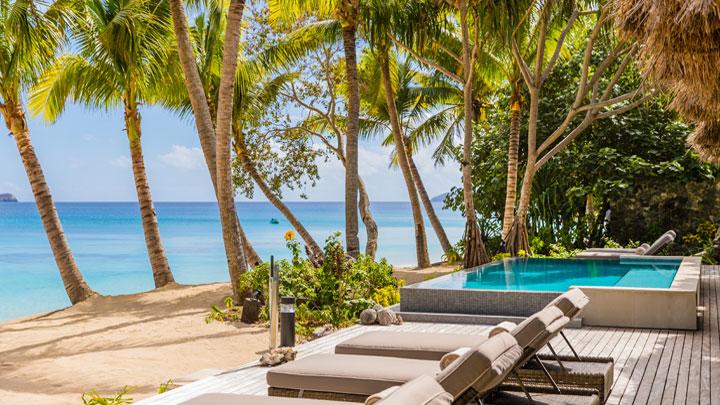 Kokomo island Fiji superyacht friendly resort
