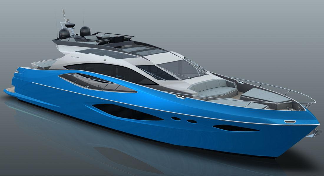 Numarine 78HTS megayacht